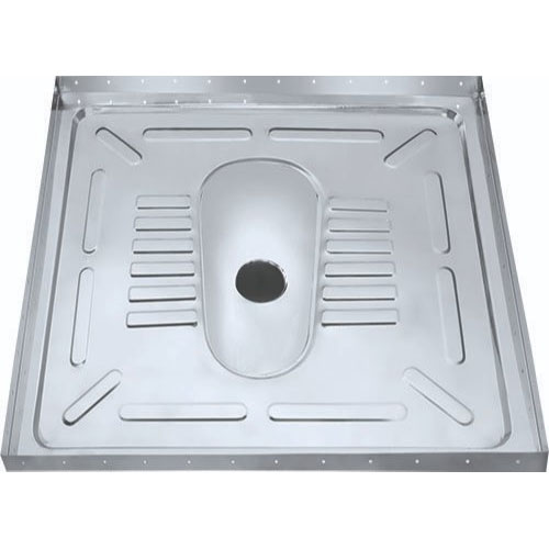Stainless Steel Squatting Pan with Floor