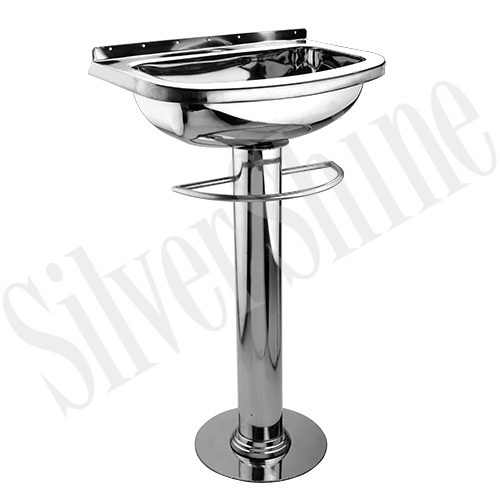 SS Wash Basin with Pedestal