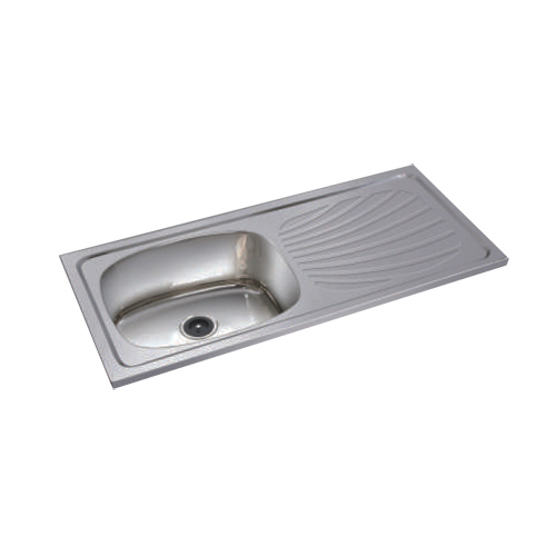 Single Bowl Single Drain SS Sinks