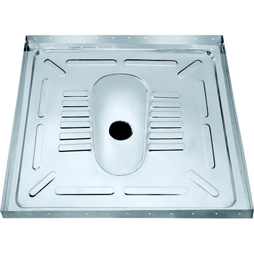 SS Lavatory Pan with Floor