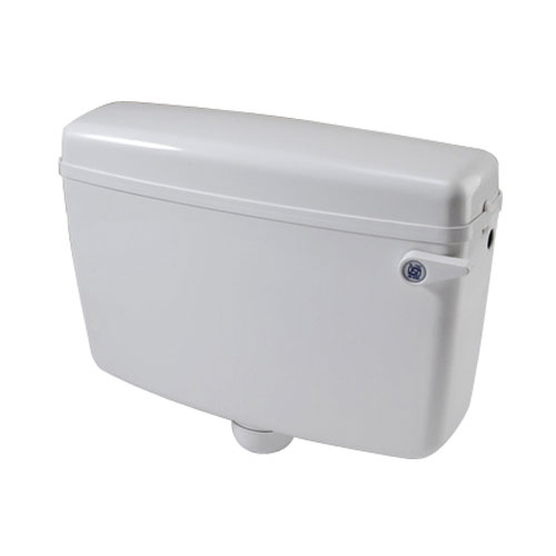 White PVC Single Flushing Cisterns